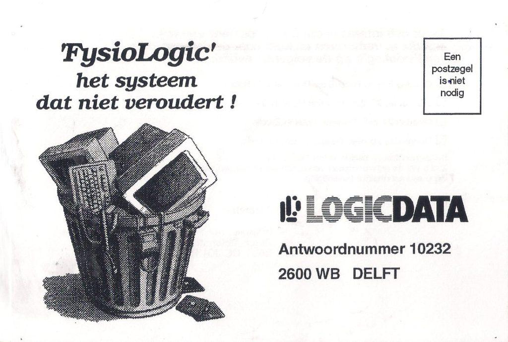 FysioLogic 1.0 wordt geboren…nu 40 jaar geleden