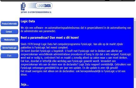 de eerste website logicdata.nl gaat online!