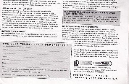 Hoera, FysioLogic bestaat 25 jaar!